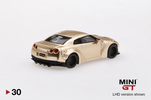 LB★WORKS Nissan GT-R (R35) Satin Gold